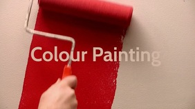 Colour Painting video poster template