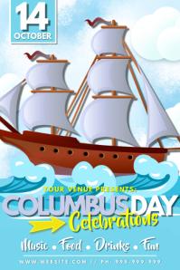 Columbus Day Celebrations Poster
