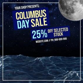 Columbus Day Retail Video