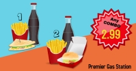 combo meal deal/gas station sale/restaurant