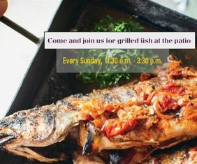 Come and join us for grilled fish