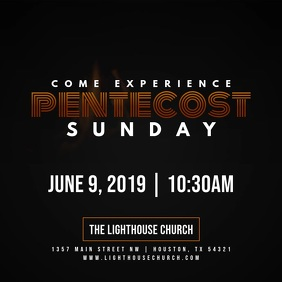 Come Experience Pentecost