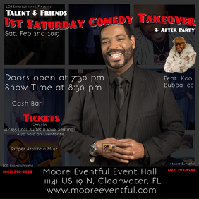 Comedian Talent ME Feb Flyer