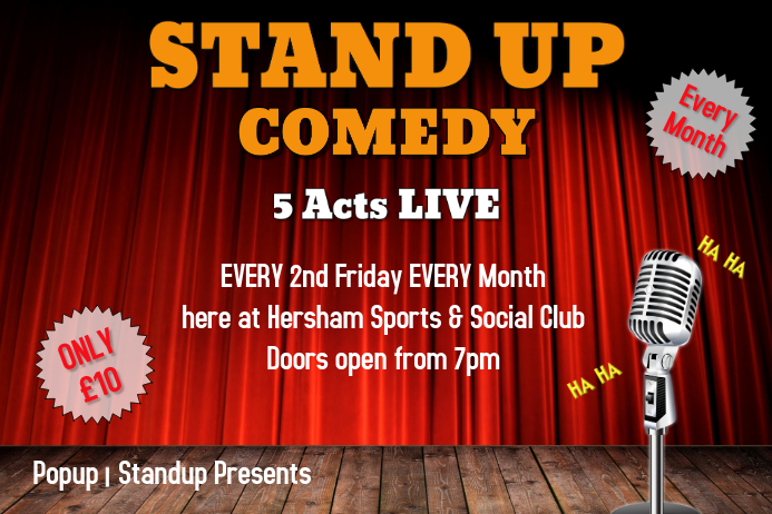 Comedy - Stand Up Poster