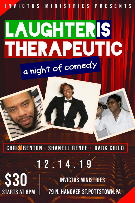 Comedy Flyer Template
