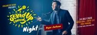 Comedy Night Show Cover na Larawan ng Facebook template