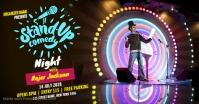 Comedy Night Show Isithombe Esabiwe ku-Facebook template
