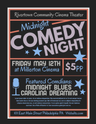 3,150+ Customizable Design Templates for Comedy Night | PosterMyWall