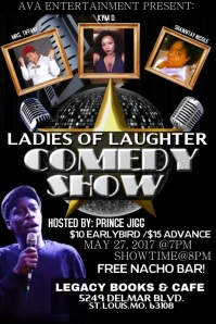 comedy flyer