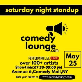 Comedy Show event for instagram