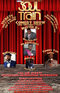COMEDY SHOW FLYER