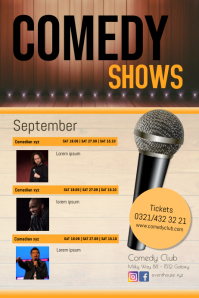 Comedy Shows Events Stand up Theatre Plays Ad