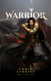 Comic Story Book Cover Design