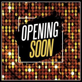Coming soon, opening soon video