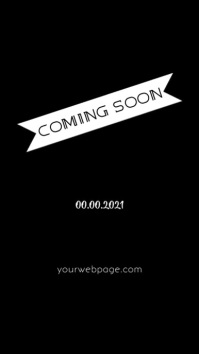 Coming Soon Instagram Story template
