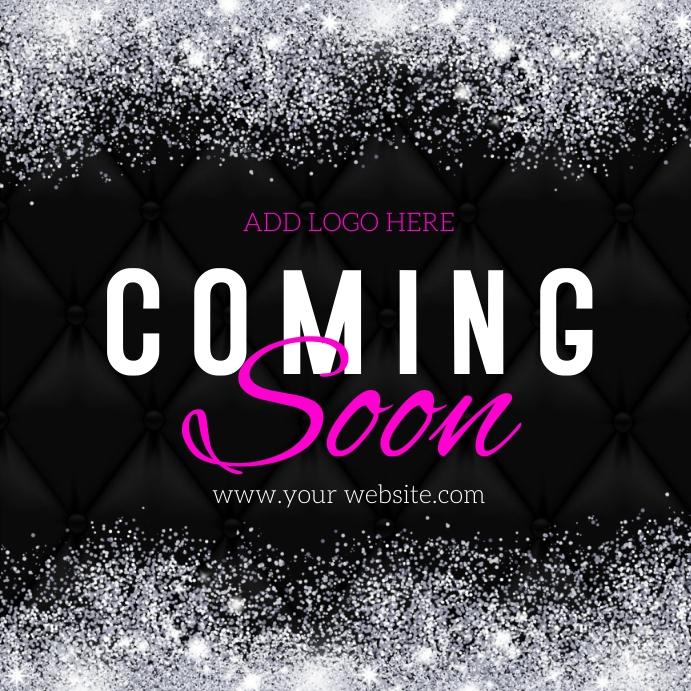 Coming Soon Flyer Kvadrat (1:1) template
