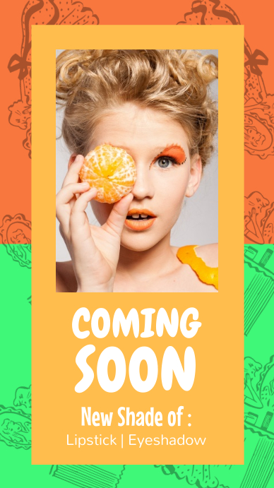 Coming Soon Makeup Announcement Instagram Story