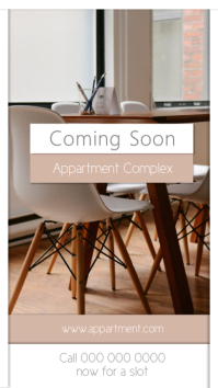 Coming Soon Real Estate Announcement Instagram Story