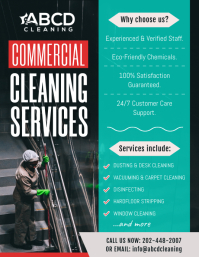 Commercial Cleaning Company Flyer
