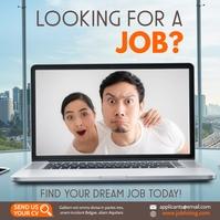 Commercial Job Instagram Post template
