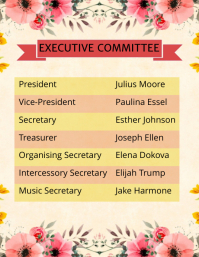 Committee List Template