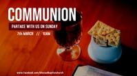 Communion Service Announcement Display digitale (16:9) template