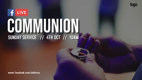 Communion Service Digitale Vertoning (16:9) template