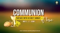 Communion Service Digitale Vertoning (16:9) template