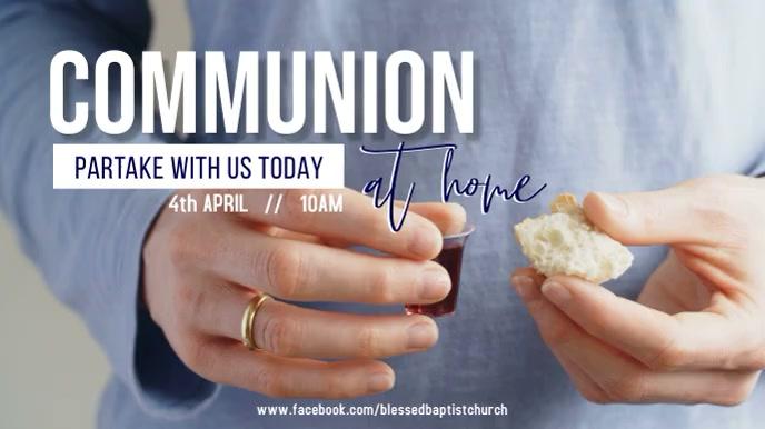Communion Service 数字显示屏 (16:9) template