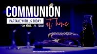 Communion Service Tampilan Digital (16:9) template