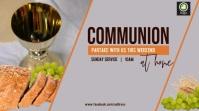 Communion Service Digital na Display (16:9) template