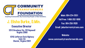 Community business card