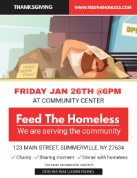 Community Charity Event Flyer template