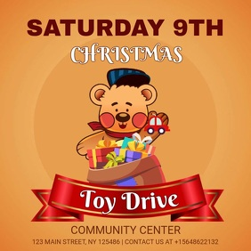 Community Charity Toy Drive Video