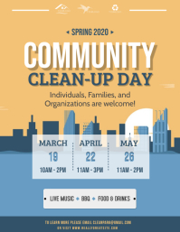 Community Cleanup Event Flyer