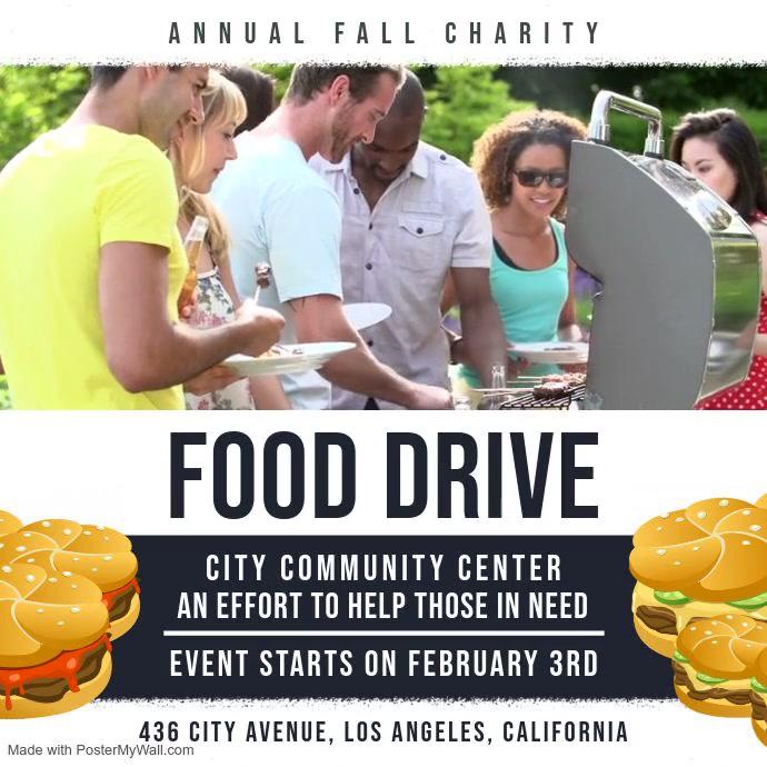 Community Food Drive Video Ad