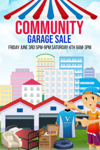Community Garage Sale Fundraiser