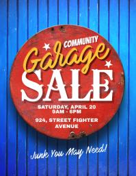 Community Garage Sale Flyer Poster