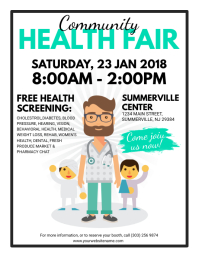 health fair flyer ideas