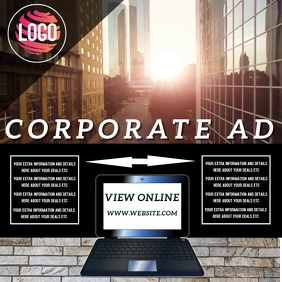 COMPANY AD TEMPLATE Instagram Plasing