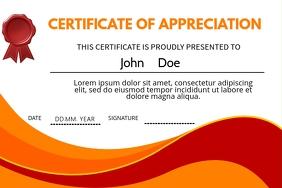 Company Appreciation Certificate