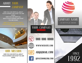 COMPANY BROCHURE TEMPLATE Flyer (US Letter)