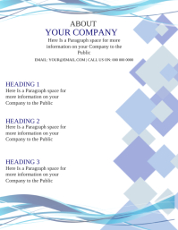 Company Business Flyer Template