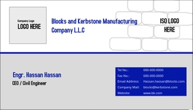 Company Card Template