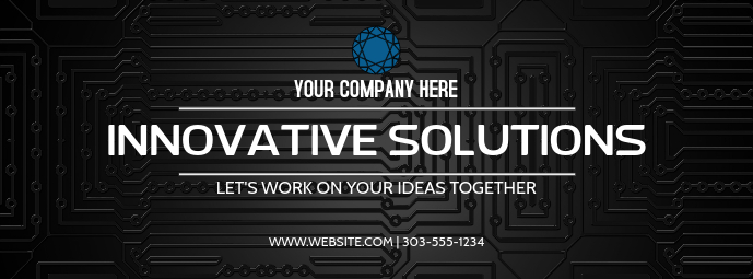 Company Facebook cover template