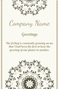 company greetings