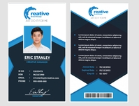 Company ID Design Template Flyer (US Letter)
