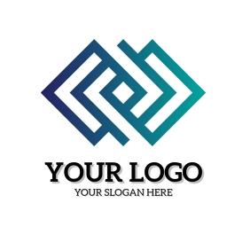 COMPANY LOGO DESIGN Template Square (1:1)