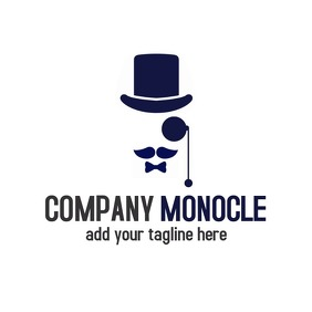 Company monocle icon logo