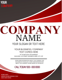 Company or Business Flyer Template